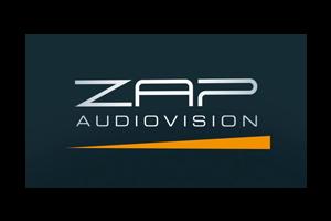 ZAP AUDIOVISION logo