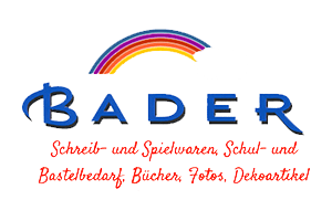 Bader - Schreibwaren - Spielwaren - Buchhandlung logo